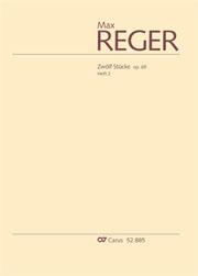 Reger: Zwölf Stücke op. 65, Heft 2