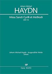 Johann Michael Haydn: Missa Sancti Cyrilli et Methodii