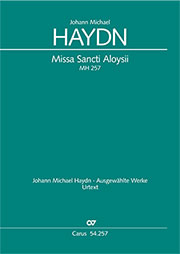 Johann Michael Haydn: Missa Sancti Aloysii
