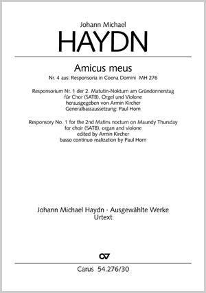 Johann Michael Haydn: Amicus meus
