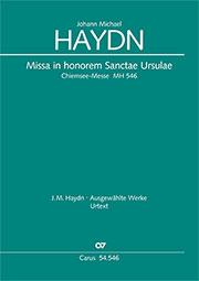 Johann Michael Haydn: Missa in honorem Sanctae Ursulae