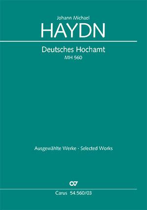 Johann Michael Haydn: Deutsches Hochamt