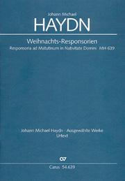 Haydn, M.: Weihnachtsresponsorien