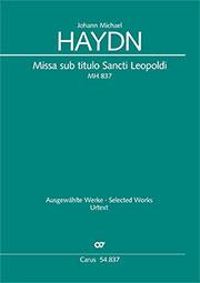 Johann Michael Haydn: Missa sub titulo Sancti Leopoldi