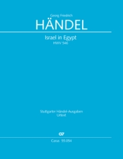 Georg Friedrich Händel: Israel in Egypt - Part II-III