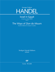 Georg Friedrich Händel: Israel in Egypt - Part I