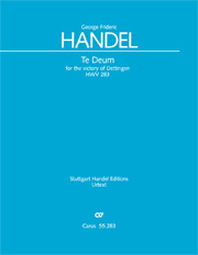 Georg Friedrich Händel: Te Deum for the Victory of Dettingen
