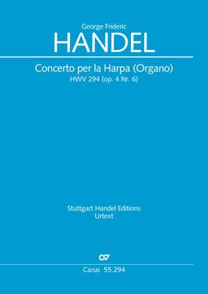 Georg Friedrich Händel: Concerto per la Harpa (Organo) in B