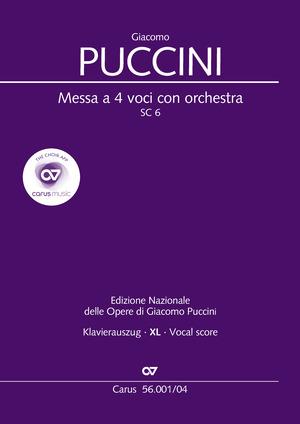 Giacomo Puccini: Messa a 4 voci con orchestra