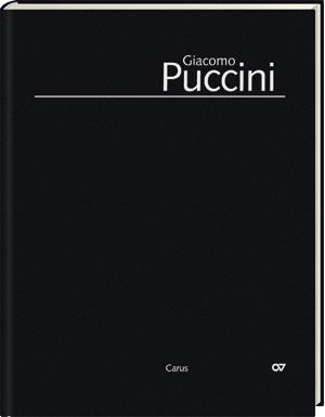 Edizione Nazionale delle Opere di Giacomo Puccini. II. Instrumentalmusik; 1. Werke für Orchester (Bd. II/1)