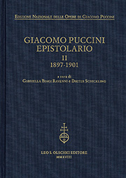 Giacomo Puccini: Epistolario II, 1897-1901