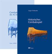 Historisches Cembalospiel. Buch + Notenband