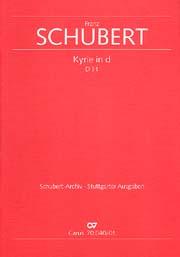 Franz Schubert: Kyrie für eine Messe in d