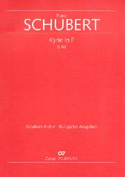 Franz Schubert: Kyrie in F