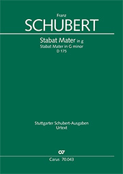 Franz Schubert: Stabat Mater in g