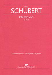 Franz Schubert: Intende voci