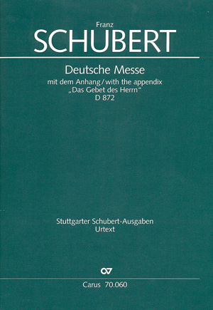 Franz Schubert: Deutsche Messe