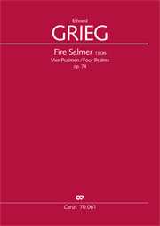 Grieg: Four Psalms