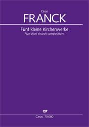 Cinq petites oeuvres d'église