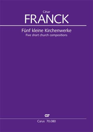 Franck: Five short sacred compositions