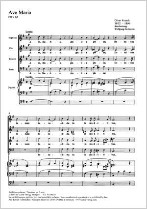 César Franck: Ave Maria