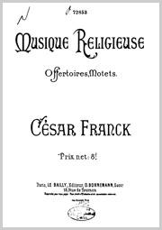 Franck: Kleinere Kirchenwerke