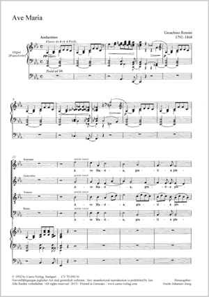 Gioachino Rossini: Ave Maria
