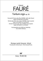 Gabriel Fauré: Tantum ergo en la majeur