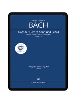 J. S. Bach: Gott der Herr ist Sonn und Schild BWV 79. carus music
