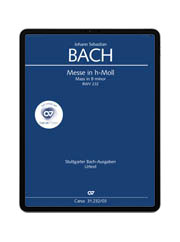 J. S. Bach: Messe in h-Moll. carus music