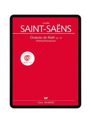 Saint-Saëns: Oratorio de Noël. carus music