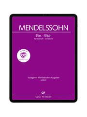 Mendelssohn: Elias. carus music