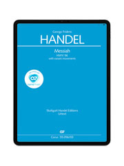 Händel: Messiah. carus music
