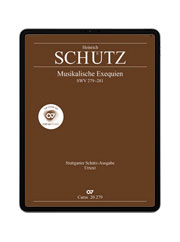 carus music, the choir app. Schütz: Musikalische Exequien