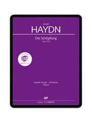 Haydn: Die Schöpfung. carus music