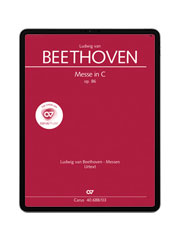 Beethoven: Messe in C. carus music