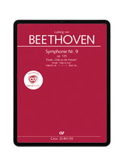 Beethoven: Symphonie Nr. 9. Finale. carus music