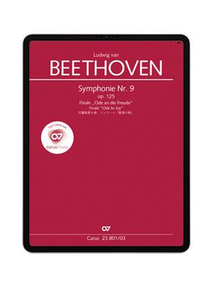 Beethoven: Symphonie Nr  9  Finale  carus music App, itunes