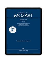 Mozart: Missa in c KV 427. carus music