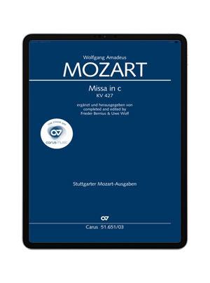Mozart: Missa in c K. 427. carus music