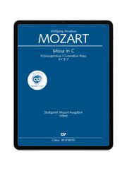 W. A. Mozart: Missa in C. carus music