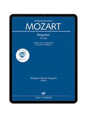 W. A: Mozart: Requiem. carus music