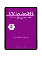 Mendelssohn: Hör mein Bitten. carus music