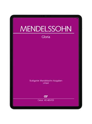 Mendelssohn: Gloria. carus music