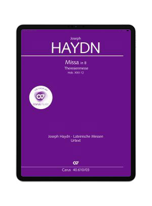 Haydn: Theresienmesse in B. carus music