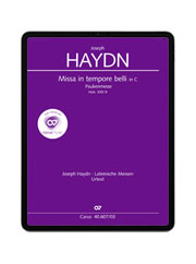 Haydn: Missa in Tempore Belli. carus music