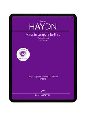 Haydn: Missa in Tempore Belli. carus music