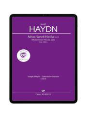Haydn: Missa Sancti Nicolai. carus music
