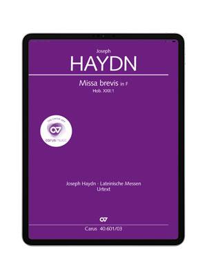 Haydn: Missa brevis. carus music