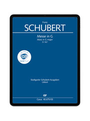Schubert: Messe in G. carus music